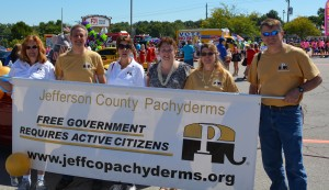 Jefferson County Pachyderms at Arnold Days Parade